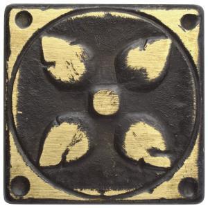 Padova Laton Bronze 1 5 8 In X 1 5 8 In Metal Floor And Wall Tile Fazpatl 202799633